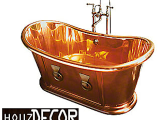 HOUZDECOR - ELUSIVE COPPER BATH TUB:   by HOUZDECOR