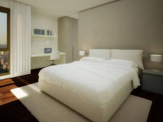 Penthouse Atalaya INTERCON Dormitorios de estilo moderno