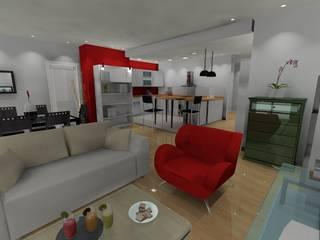 Appartement parisien Paris 11: Salle à manger de style  par In'Archy