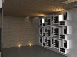 Portabottiglie dal design moderno Esigo 5 - Composition: Cantina in stile  di Esigo SRL