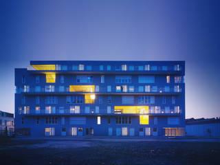 MACHU PICCHU, 53 logements et espaces partagés. Résidence Jeanne Leclercq à Lille par sophie delhay architectes