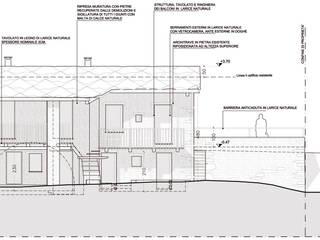 """""""Il vento fa il suo giro"""" recupero di un edificio rurale ad abitazione per regista ad Ostana (CN) di AAT Studio Minimalista"""