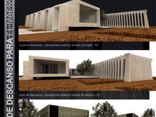 casa de descanso maestro jubilado:  de estilo  por AE ARQUITECTOS