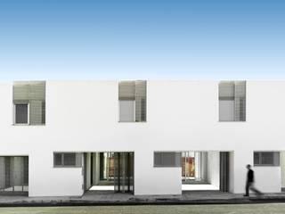 26 bioclimatic social houses gabriel verd arquitectos Espacios