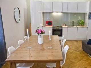 Espace repas: Salle à manger de style de style Moderne par 3B Architecture