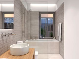 Bathroom by NUÑO ARQUITECTURA, Modern