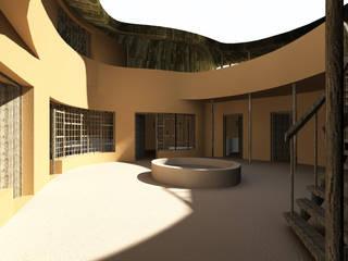 Дома в . Автор – Ania Klukowski / architecte et Michel Grasso / architecte, Кантри