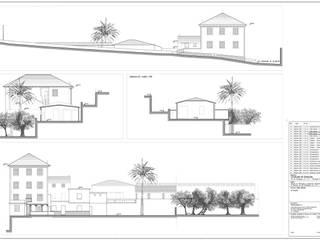Tav. 4 (Stato attuale):  in stile  di Alessio Costanzo Architetto