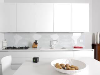 HP Interior srl Cocinas de estilo moderno