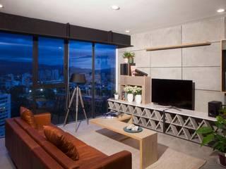 Modern Living Room by Taller David Dana Arquitectura Modern