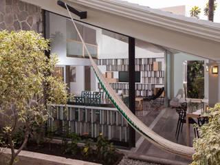 Modern Terrace by Taller David Dana Arquitectura Modern