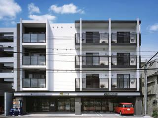 """ixreaが提案する""""笑顔で住まう賃貸住宅"""" ApartmentにSmileをプラスした 「Smilement」Project: 株式会社ixreaが手掛けた家です。,"""