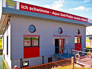 Schwimmendes Innovationszentrum von glatthaar-fertigkeller von glatthaar-fertigkeller gmbh & co.kg