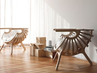 Shell Chair:   by Branca Lisboa