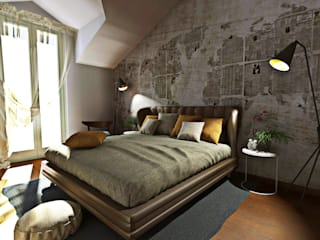 moderne Schlafzimmer von AAA Architettura e Design