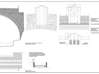Progetto Ponte dei Fieschi:  in stile  di Alessio Costanzo Architetto