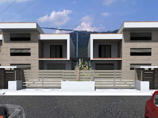 modern  by ANDREA PONTOGLIO ARCHITECT, Modern