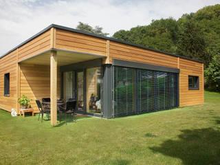 Plain-pied en ville, petite surface ( 100m2) par Myotte-Duquet Habitat Moderne