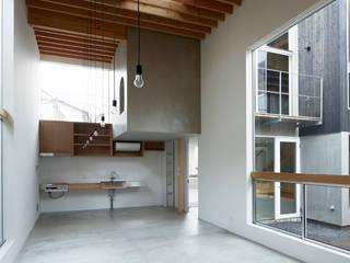 桜台の家: 鈴木淳史建築設計事務所が手掛けたキッチンです。