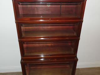 Globe Wernicke bookcase Travers Antiques Living roomShelves