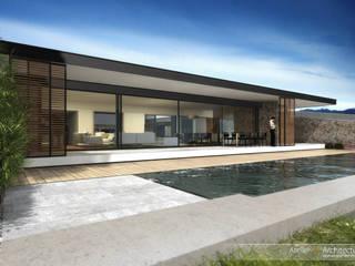 Villa L:  de style  par Atelier-RS Architecture