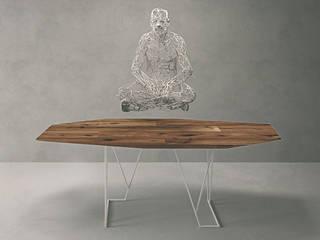Kinoki Table por Setsu & Shinobu Ito Moderno