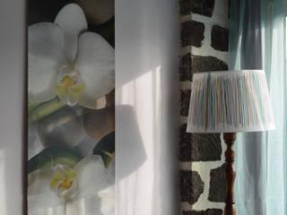 Le papier peint saisonnier:  de style  par Julie Montbrizon Architecte d'intérieur
