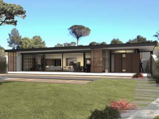 Villa L: Maison de style  par Atelier-RS Architecture