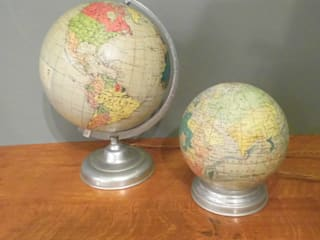 Illuminated Globes Travers Antiques Living roomLighting