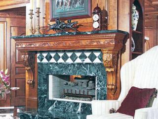 Traditional foyer Schema Studio Limited Коридор