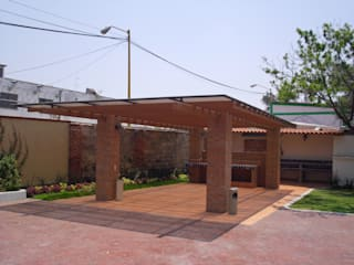 Rustic style house by JRK Diseño - Studio Arquitectura Rustic