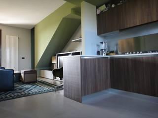 studionove architettura Eclectic style kitchen
