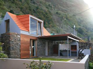 Stone Barn Conversion Jardim Hotel Gaya Rustic Oleh Mayer & Selders Arquitectura Rustic