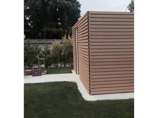 Progettazione e realizzazione di struttura esterna in una villa sul lago di Garda:  in stile  di Entrata Libera 48