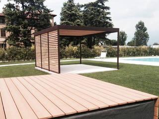 Progettazione e realizzazione struttura outdoor:  in stile  di Entrata Libera 48