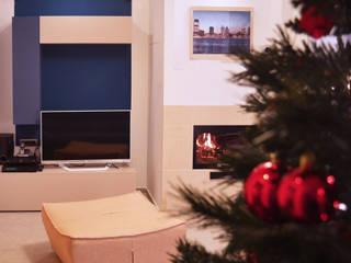 modern Living room by valentina cirillo architetto