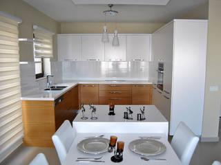 Azure Villaları 4 Odalı Müstakil Villalar Modern Mutfak Estateinwest Modern
