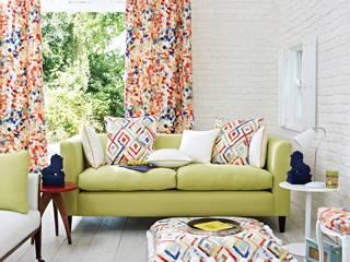 Printworks: modern Living room by Prestigious Textiles