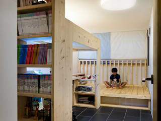 Nursery/kid's room by 무회건축연구소, Modern