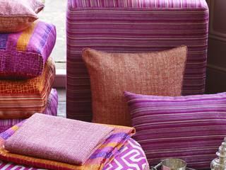 Roco cam Salas de estar mediterrâneas por Prestigious Textiles Mediterrâneo