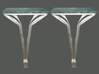 Pair of 'Little Mellie' console tables Perceval Designs Corridor, hallway & stairs Drawers & shelves