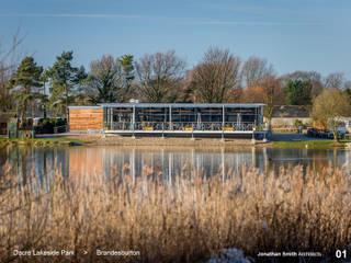 Dacre Lakeside Park Restaurant Modern houses by Jonathan Smith Architects ltd Modern