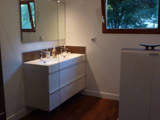 APRES sdb  suite parental:  de style  par  Elodie ROBOT Architecte d'intérieur