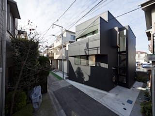 House in Shimomaruko アトリエハコ建築設計事務所/atelier HAKO architects Modern Interior Design