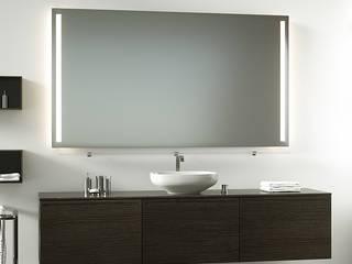 Badspiegel mit Hinterleuchtung:  Badezimmer von Schreiber Licht-Design-GmbH