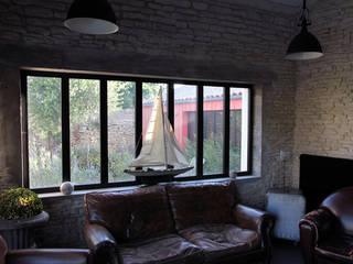 Salon: Maisons de style de style Industriel par Alizé Chauvet Architecte - Designer intérieur