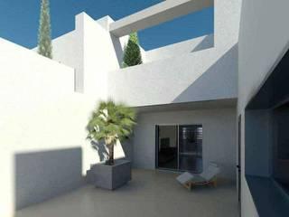 46 Viviendas Vegas del Genil:  de estilo  de Argola Arquitectos