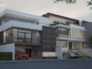 Casa Habitación:  de estilo  por Arki3d,