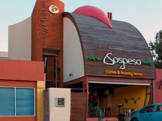 Cafe Sospeso:  de estilo  por Chávez & Díaz Arquitectos