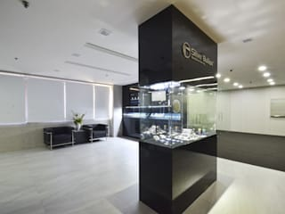 OFFICE FOR SILVER BULLION: industrial  by JIA Studios LLP,Industrial